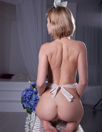 This playful blonde would make for the excellent roommate because she would not mind showing that hot naked body all day.