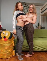 Lesbian teens polish teen fuck